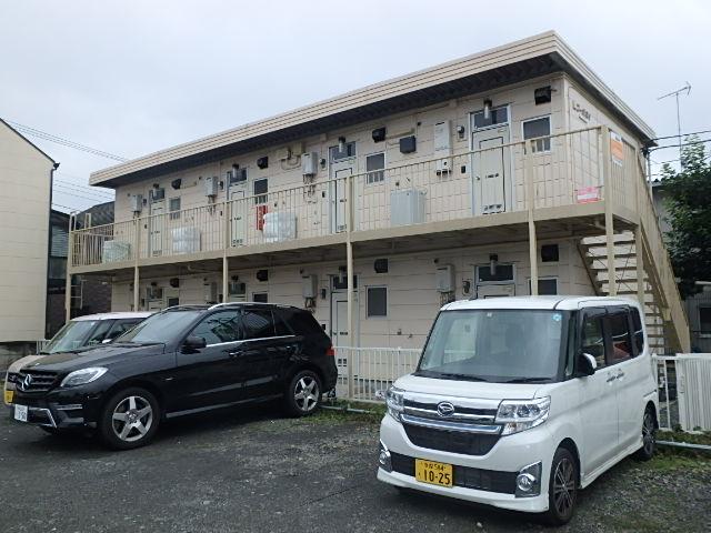 東京都府中市、北府中駅徒歩22分の築30年 2階建の賃貸アパート