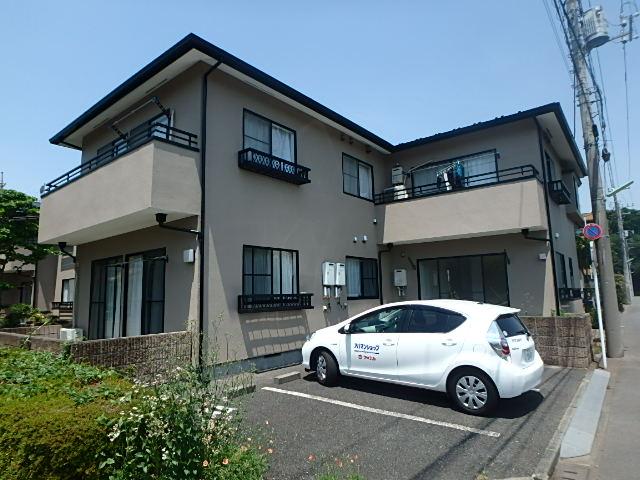 東京都小平市、国分寺駅バス8分文化学園大学下車後徒歩1分の築21年 2階建の賃貸アパート