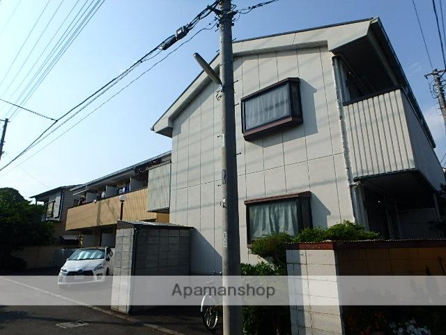 東京都小金井市、武蔵小金井駅徒歩16分の築25年 2階建の賃貸マンション