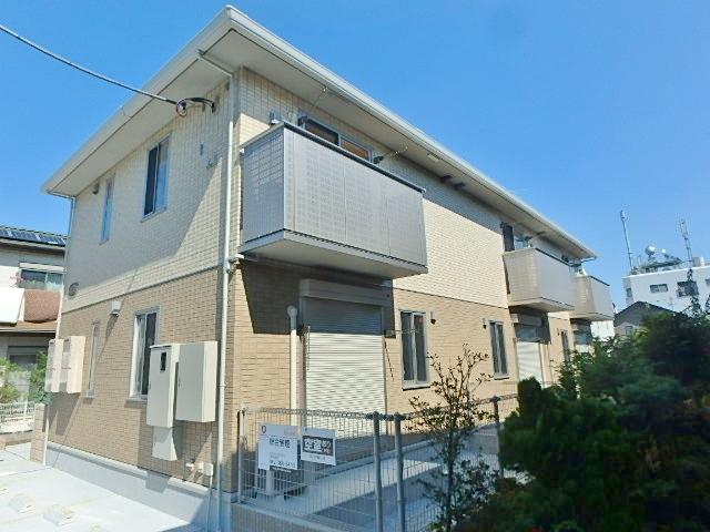 東京都小平市、新小平駅徒歩13分の築1年 2階建の賃貸アパート