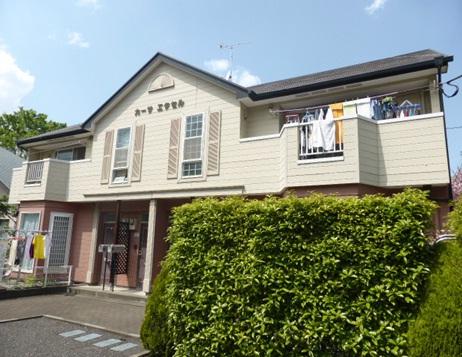 東京都小平市、武蔵小金井駅バス17分五間通り下車後徒歩4分の築19年 2階建の賃貸アパート