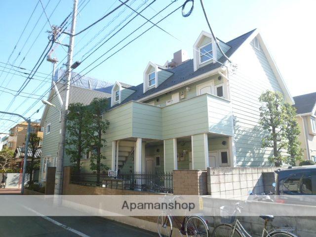東京都国立市、矢川駅徒歩26分の築22年 2階建の賃貸アパート