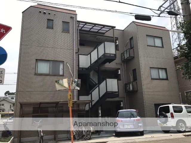 東京都府中市、北府中駅徒歩16分の築22年 3階建の賃貸マンション