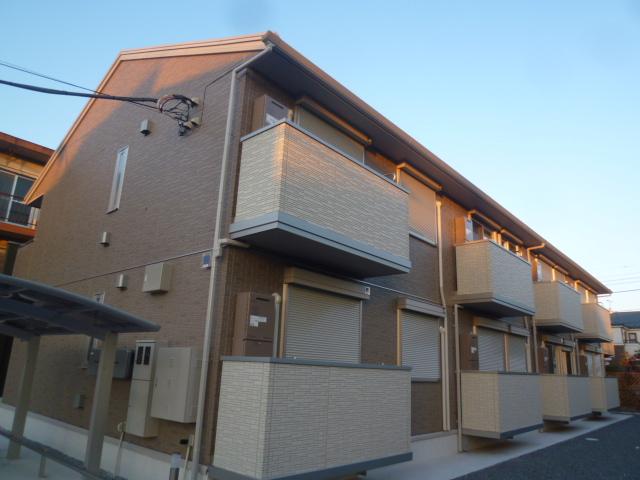 東京都小平市、小平駅徒歩16分の築4年 2階建の賃貸アパート
