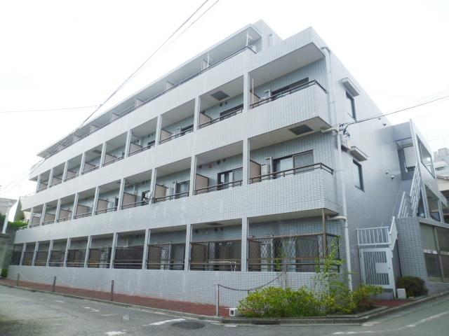 東京都国分寺市、北府中駅徒歩30分の築21年 4階建の賃貸マンション
