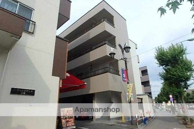 東京都狛江市、狛江駅徒歩11分の築34年 4階建の賃貸マンション