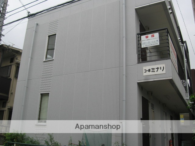 東京都狛江市、喜多見駅徒歩20分の築21年 3階建の賃貸アパート