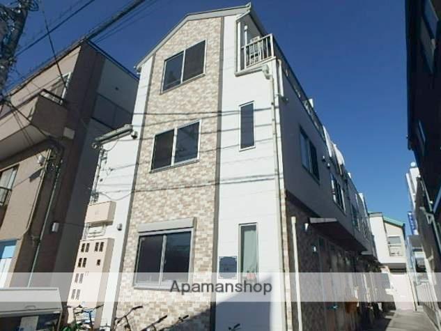 東京都狛江市、狛江駅徒歩12分の築6年 3階建の賃貸アパート