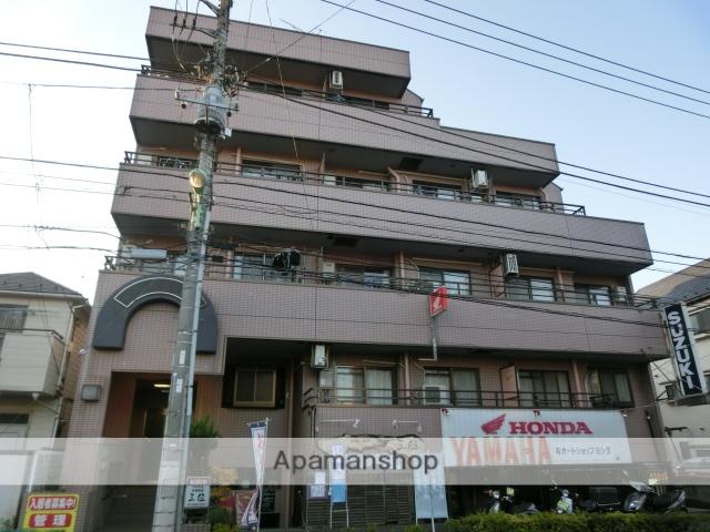 東京都世田谷区、経堂駅徒歩13分の築22年 4階建の賃貸マンション