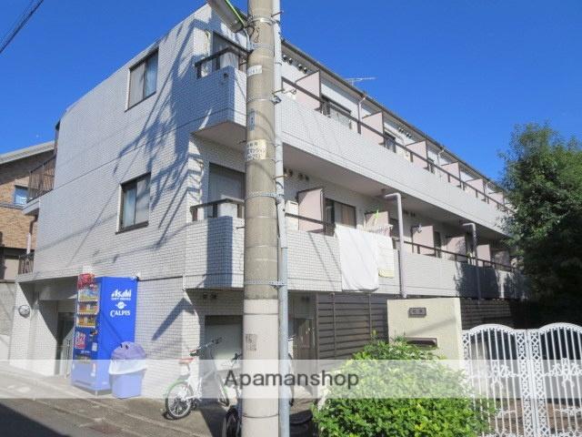 東京都世田谷区、経堂駅徒歩8分の築25年 3階建の賃貸マンション