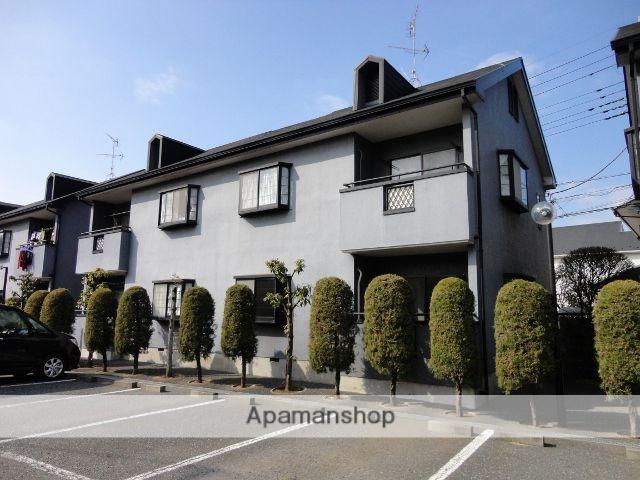 東京都狛江市、喜多見駅徒歩6分の築23年 2階建の賃貸アパート
