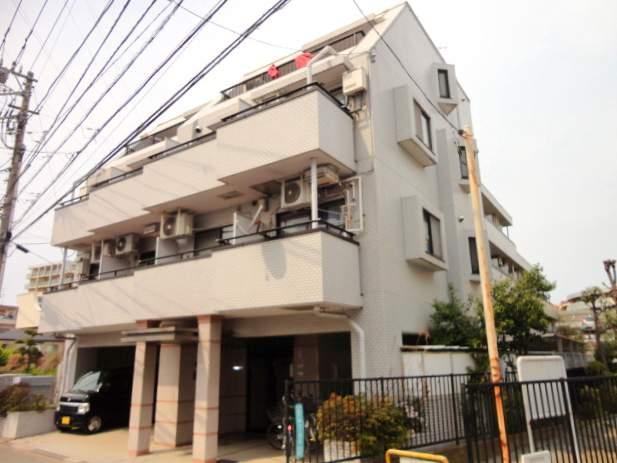 東京都狛江市、喜多見駅徒歩9分の築30年 4階建の賃貸マンション