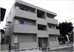 東京都調布市、仙川駅徒歩24分の築5年 3階建の賃貸アパート