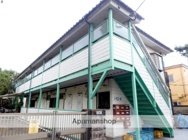 東京都狛江市、喜多見駅徒歩16分の築22年 2階建の賃貸アパート
