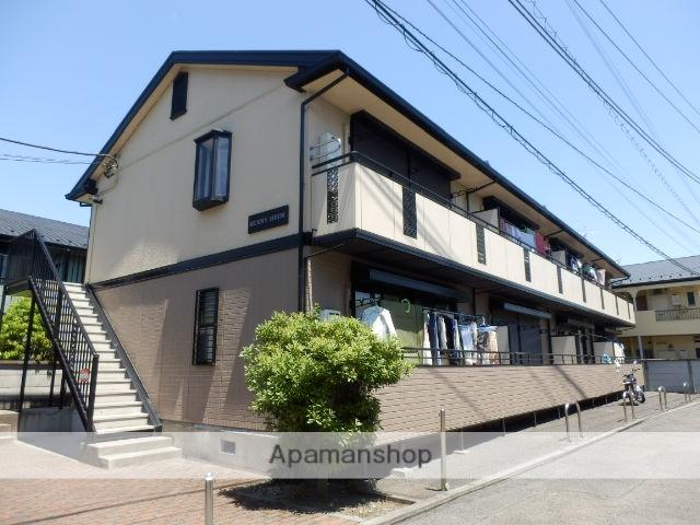 東京都狛江市、成城学園前駅徒歩19分の築23年 2階建の賃貸アパート