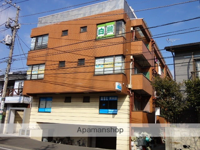 東京都狛江市、喜多見駅徒歩10分の築36年 4階建の賃貸マンション