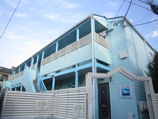 東京都狛江市、喜多見駅徒歩7分の築26年 2階建の賃貸アパート