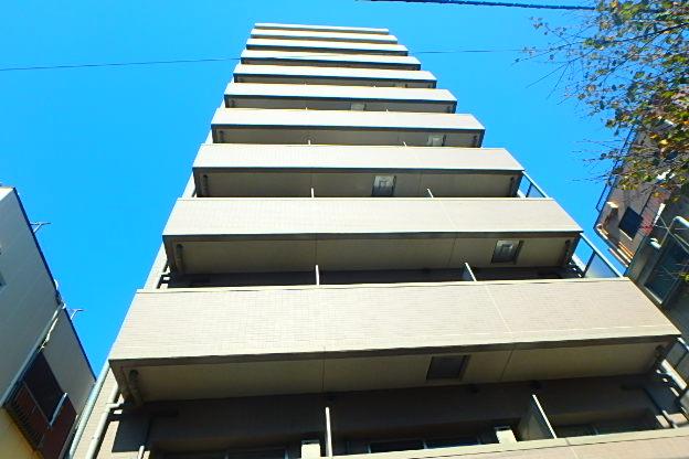 東京都江東区、亀戸駅徒歩10分の築9年 11階建の賃貸マンション