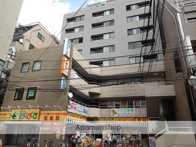 東京都江戸川区、平井駅徒歩2分の築30年 10階建の賃貸マンション