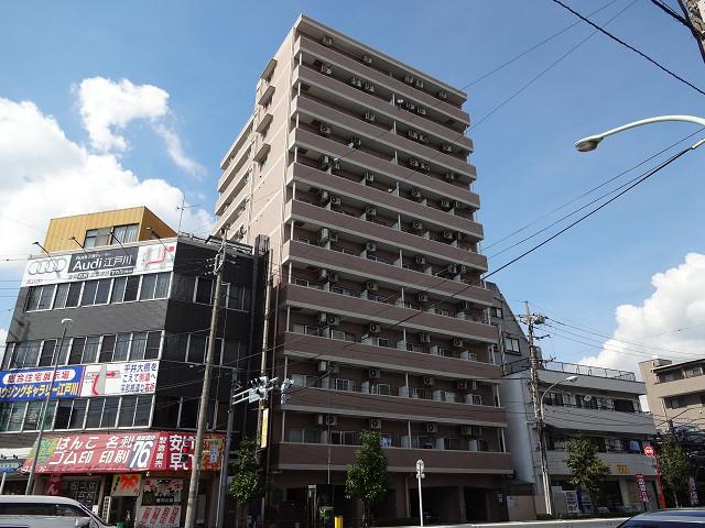 東京都江戸川区、平井駅徒歩6分の築23年 12階建の賃貸マンション