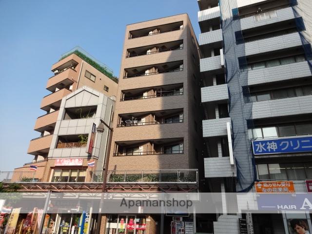 東京都江東区、亀戸駅徒歩6分の築19年 8階建の賃貸マンション