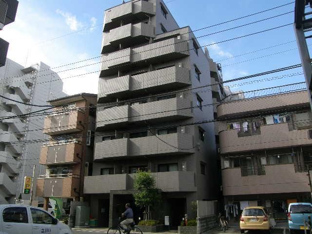 東京都江東区、錦糸町駅徒歩11分の築7年 8階建の賃貸マンション