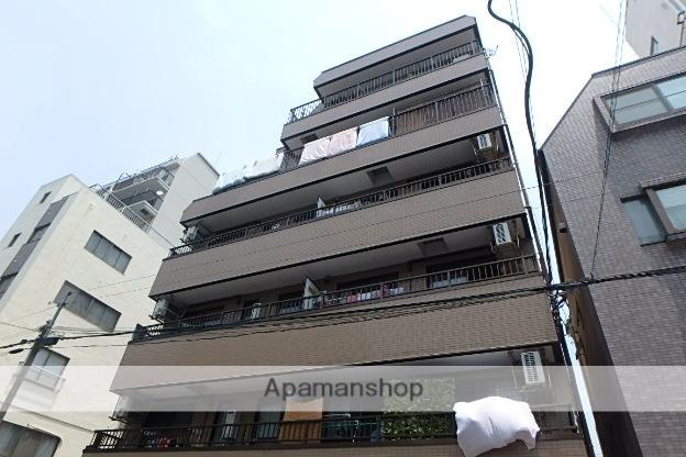 東京都墨田区、錦糸町駅徒歩12分の築23年 6階建の賃貸マンション