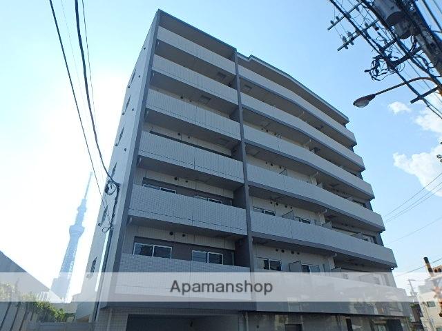 東京都墨田区、小村井駅徒歩3分の新築 9階建の賃貸マンション