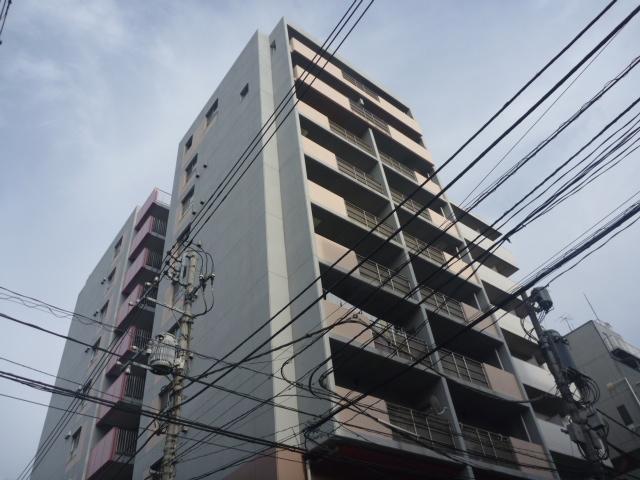 東京都江東区、錦糸町駅徒歩14分の築19年 10階建の賃貸マンション