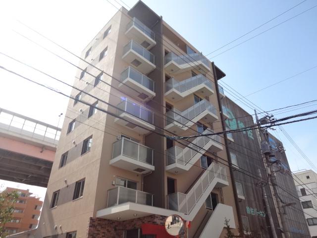 東京都江東区、錦糸町駅徒歩14分の築2年 7階建の賃貸マンション