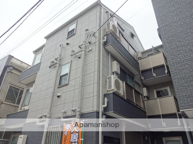 東京都江東区、西大島駅徒歩11分の築2年 3階建の賃貸アパート