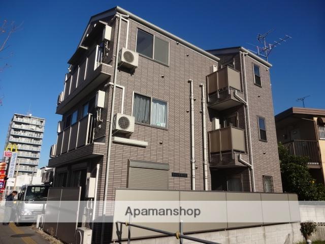東京都葛飾区、お花茶屋駅徒歩13分の築9年 3階建の賃貸アパート