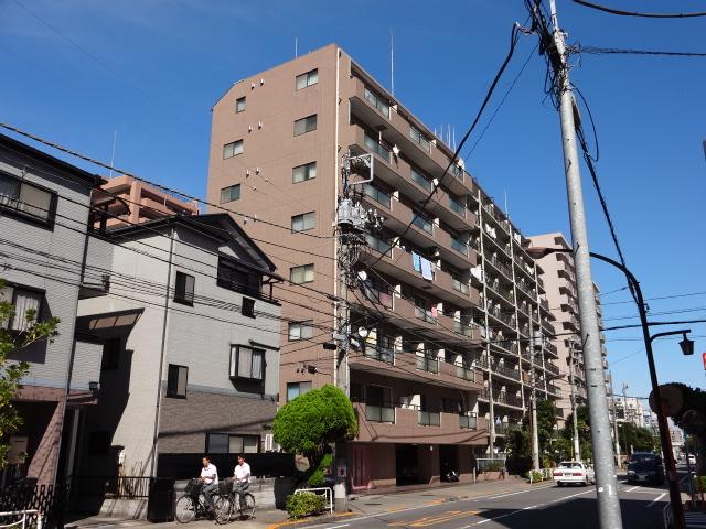 東京都江東区、住吉駅徒歩21分の築22年 8階建の賃貸マンション