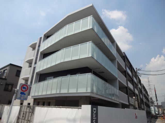 東京都世田谷区、上北沢駅徒歩13分の築2年 4階建の賃貸マンション
