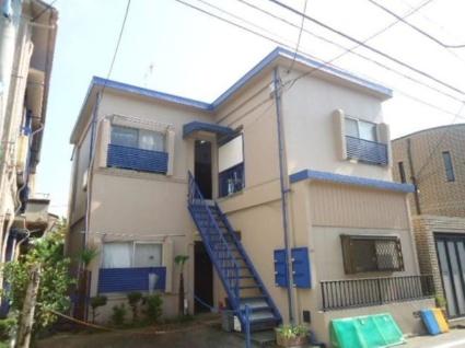 東京都杉並区、上北沢駅徒歩17分の築33年 2階建の賃貸アパート