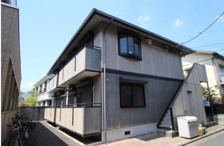 東京都杉並区、上北沢駅徒歩10分の築19年 2階建の賃貸アパート