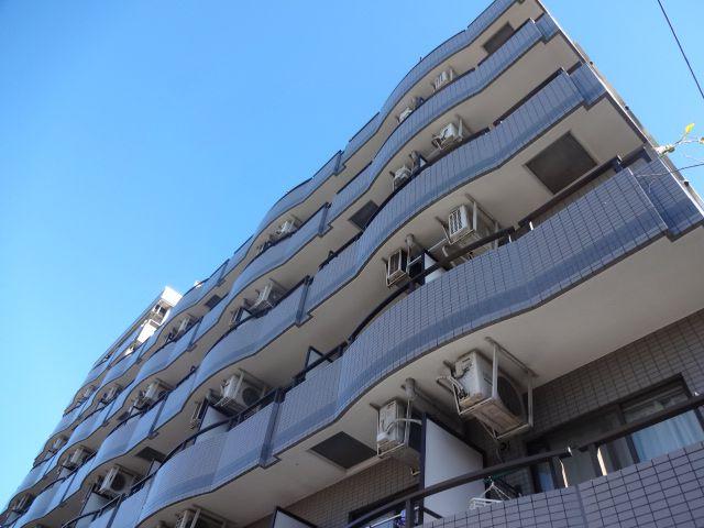 東京都杉並区、八幡山駅徒歩10分の築25年 7階建の賃貸マンション
