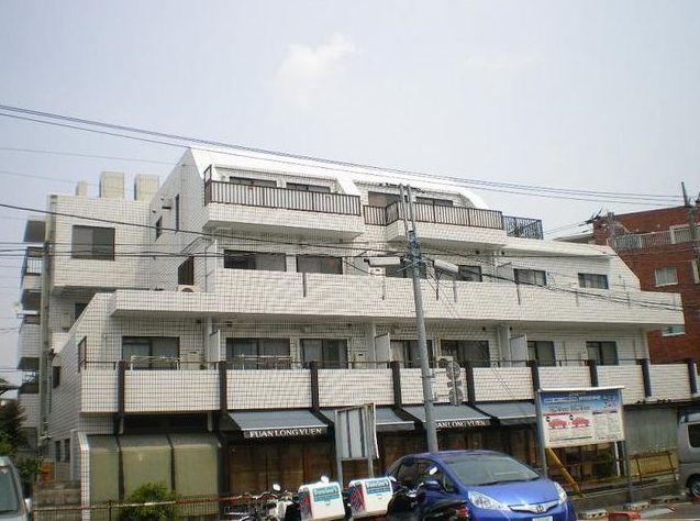 東京都世田谷区、下高井戸駅徒歩13分の築25年 4階建の賃貸マンション