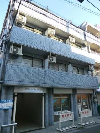 東京都世田谷区、代田橋駅徒歩12分の築19年 4階建の賃貸マンション