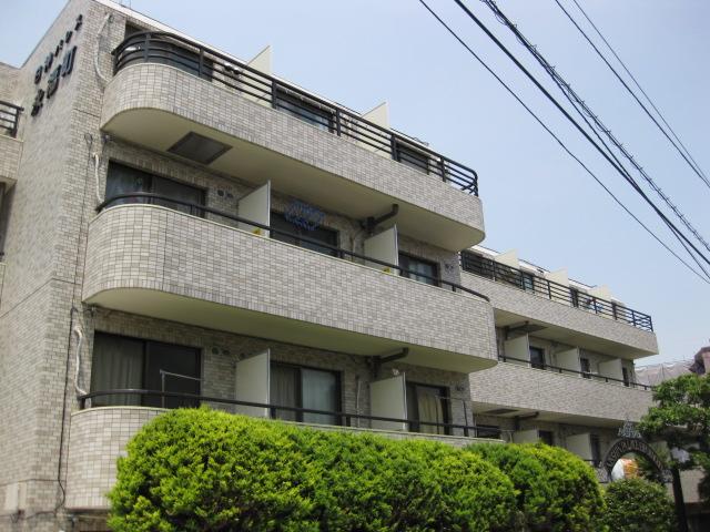 東京都杉並区、明大前駅徒歩19分の築29年 4階建の賃貸マンション