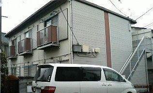 東京都杉並区、永福町駅徒歩2分の築33年 2階建の賃貸アパート