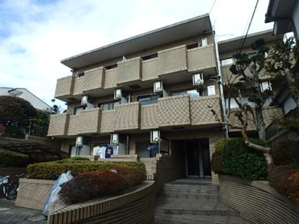 東京都杉並区、下高井戸駅徒歩11分の築23年 3階建の賃貸マンション