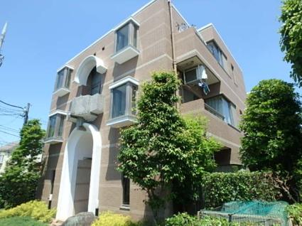東京都世田谷区、桜上水駅徒歩10分の築23年 3階建の賃貸マンション