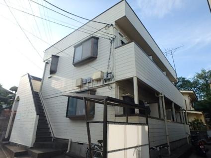 東京都杉並区、永福町駅徒歩15分の築27年 2階建の賃貸マンション
