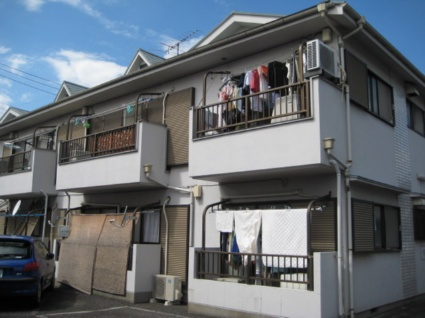 東京都世田谷区、桜上水駅徒歩14分の築29年 2階建の賃貸アパート