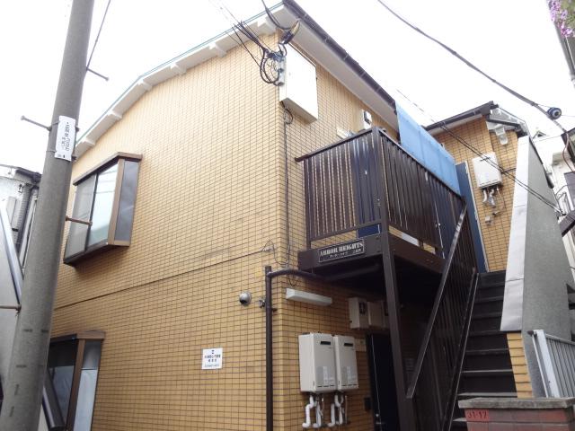 東京都杉並区、桜上水駅徒歩16分の築25年 2階建の賃貸アパート