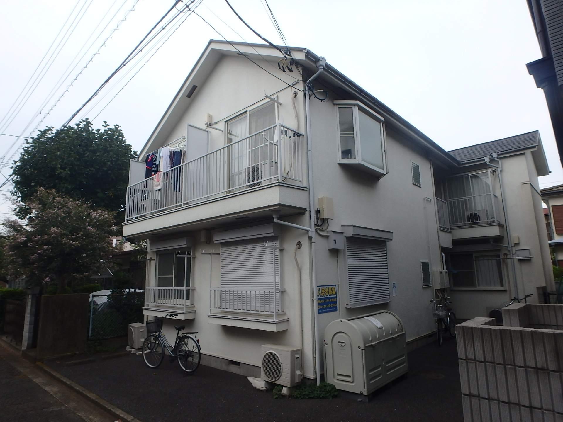 東京都武蔵野市、武蔵境駅徒歩8分の築28年 2階建の賃貸アパート