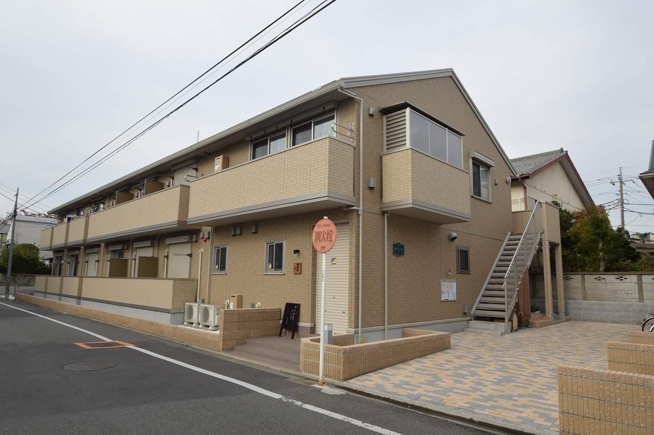 東京都小金井市、東小金井駅徒歩27分の築3年 2階建の賃貸アパート