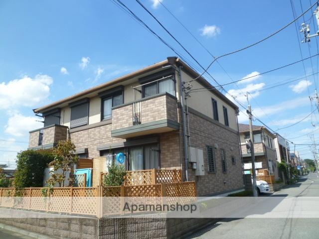 東京都小平市、国分寺駅徒歩17分の築14年 2階建の賃貸テラスハウス