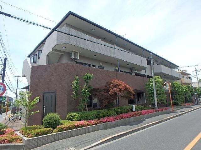 東京都小金井市、東小金井駅徒歩11分の築22年 3階建の賃貸マンション